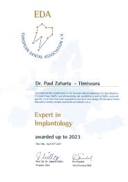 Diploma Paul Zaharia